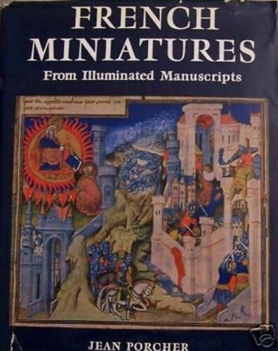 French Church Monastery Bible Miniatures Illuminated Manuscripts Color Plates