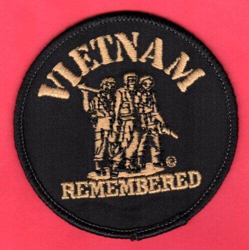 """Vietnam Remembered Patch   3"""" Old Store StockPatches - 104015"""