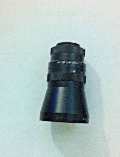 3M 17mm FL C Mount Wide Angle 16mm Cine Format Lens Very Clean