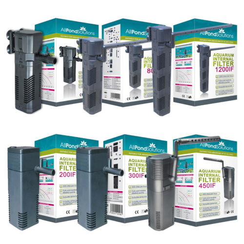 Internal Aquarium Fish Tank Submersible Filter - All Pond Solutions IF Range <br/> Choice of 200,300,450,600,800 & 1200 L/H models!