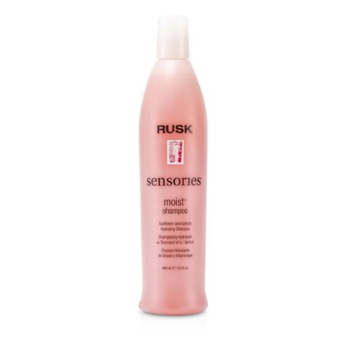 Rusk Sensories Moist Sunflower and Apricot Hydrating Shampoo 400ml Mens Hair