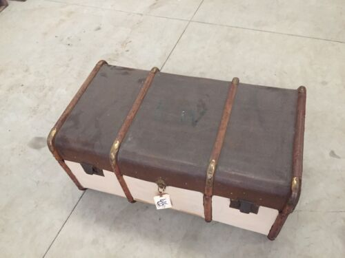 Vintage MADLER KOFFER Trunk Antique Luggage