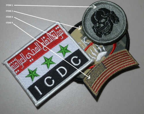 Private Military Contractor Pmc Diplomatic Security Dss νeΙcrο 2-patch Item 1&2