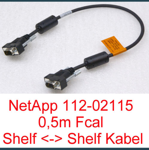 Netapp Net App Cable 112-02115 0,5 Meter Fcal Shelf to Shelf Cable Invoice - 17