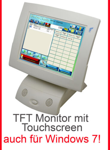 """TFT 12 """" 30,5cm Monitor with Quality Touchscreen for Continuous Operation Win 7"""