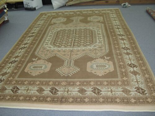 Vintage Caucasian Rug  Hand Knotted Wool 6'-6 x 9'-6