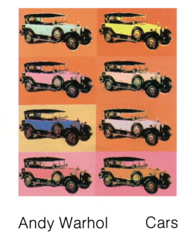 ANDY WARHOL 8 - Mercedes Typ Type 400, 1925 Poster Art Print 35.5x27.5