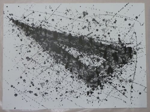 Sam Francis, Lithograph, Large Abstract Triangle, 1976