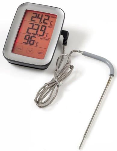 Digital Kitchen Oven Meat And BBQ Thermometer Probe Touchscreen Display ME216