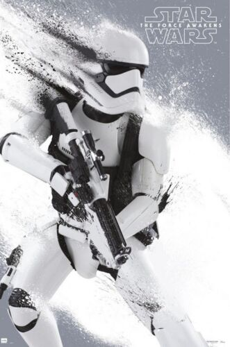 STAR WARS STORMTROOPER POSTER The Force Awakens, Size 24x36