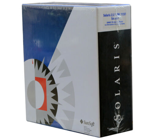 Sun Sunsoft Solaris 2.5.1 400-2288-01 Server Sparc Platform Oracle Unix New 01