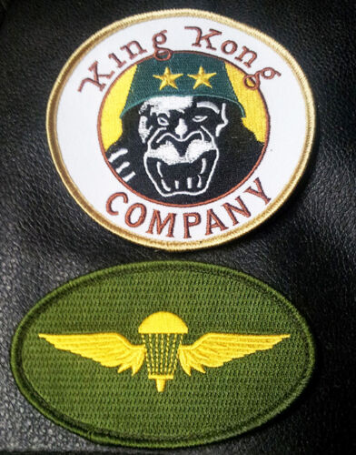 TAXI DRIVER DENIRO TRAVIS BICKLE KING KONG COMPANY IRON ON 2 PC PATCH Patches - 36078