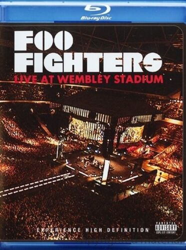 FOO FIGHTERS - Live At Wembley Stadium BLU-RAY *NEW* Concert, Led Zeppelin