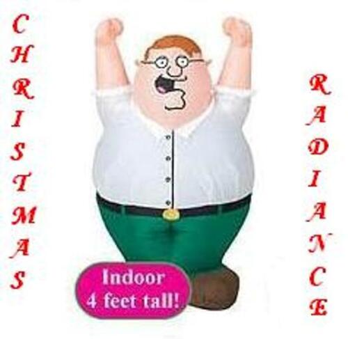 RARE 4' Gemmy Airblown Indoor Inflatable FAMILY GUY PETER