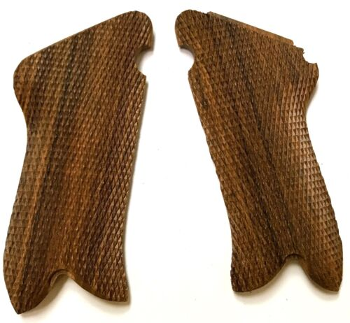 WWI WWII GERMAN P08 P-08 LUGER WOODEN PISTOL GRIPS -PAIRGermany - 156432