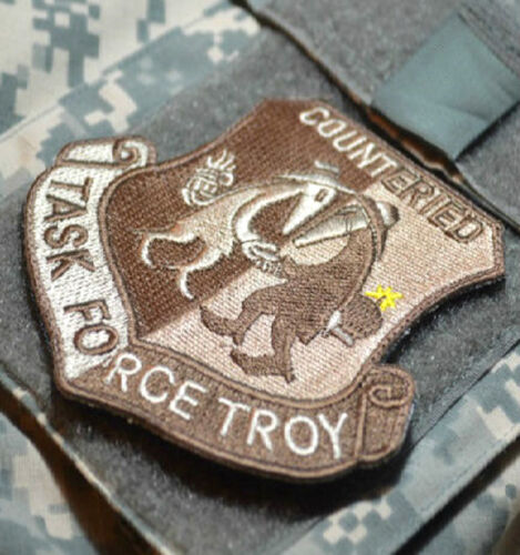 Baghdad Whacker© Jsoc Gulf War Trophy Insignia: Task Force Troy Counter Ied Ssi