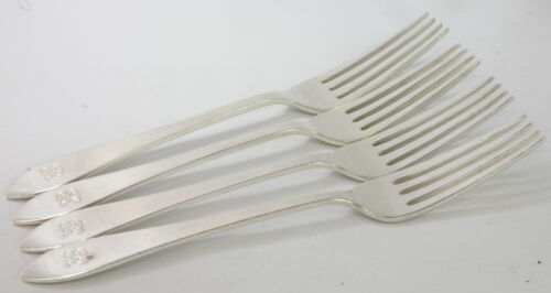 Sterling Silver Tiffany & Co. Faneuil Dinner Fork Set of 4