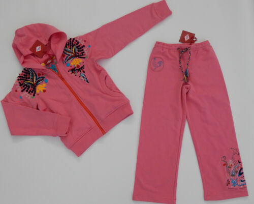 OILILY Girls Tracksuit Jacket & Pants Outfit Size Eu 128 fit 7-8yrs BNWT NEW