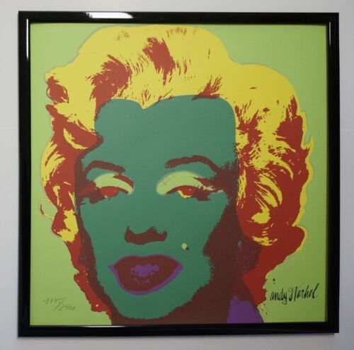C - Andy Warhol Marilyn Monroe Lithograph Limited 2400 pcs.