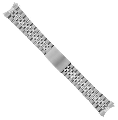 19MM JUBILEE WATCH BAND BRACELET FOR GRAND SEIKO 5 S/STEEL HEAVY TOP QUALITY