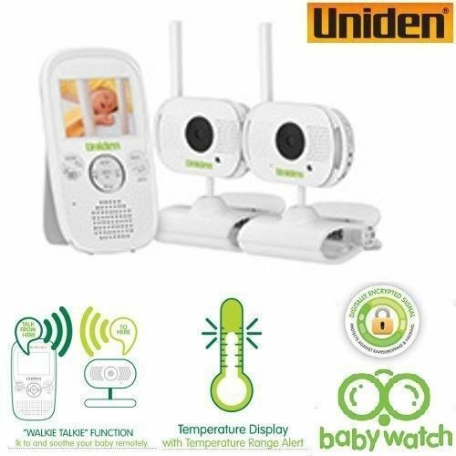 New UNIDEN 2.3inch LCD baby watch Wireless monitor with Walkie Talkie Function