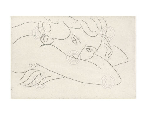 Young Woman with Face Buried in Arms 1929 - Henri Matisse Art Print Poster 11x14