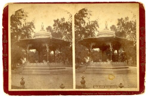 New York City NYC - THE BAND HOUSE IN CENTRAL PARK -Aaron Veeder Stereoview