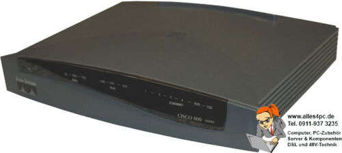 Cisco 836-K9 DSL Over Isdn Broadband Router ADSLC836-K9O3S8Y6-M Top State