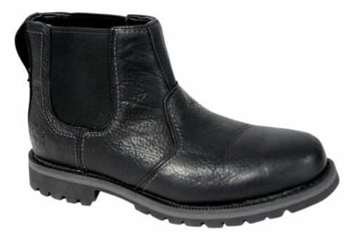 Timberland Earthkeepers Heritage Larchmont Chelsea Mens Boots Black A12F4 WH