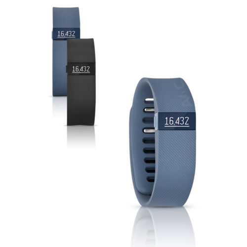 Fitbit Charge Activity + Sleep Wristband Tracker Black, Slate, Large, Small