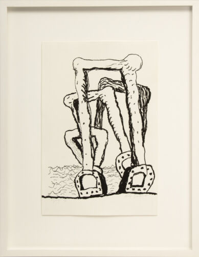 Philip Guston, Group, lithograph signed and numbered, 1980