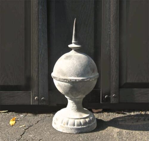 Lightning Rod -50cm -Reproduction -Architectural - Cast iron - Lead Coloring