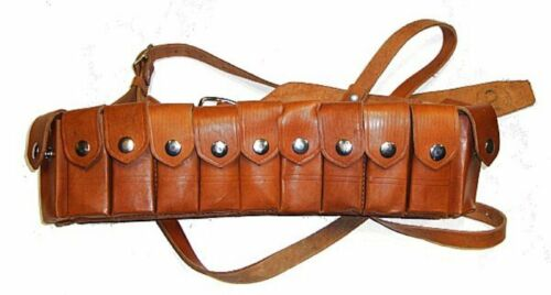 C96 Broomhandle Mauser Leather Mag Pouch POU-100062Original Period Items - 13982