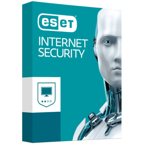 ESET INTERNET SECURITY Software 1 Device 1 Year PC MAC ANDROID [F41]
