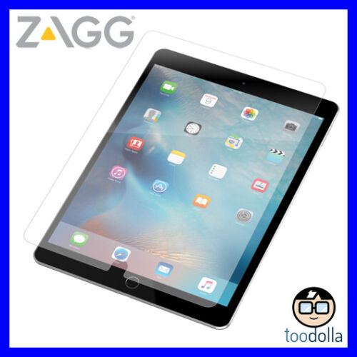 ZAGG Glass+ Tempered Glass Screen Protection, iPad Air//Pro 9.7/9.7 (2017/2018)