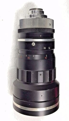 Zolomatics C Mount Cine Zoom Lens 22mm to 90mm Speed Fast F1.5