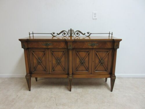 Karges Italian Regency Banded Sideboard Server Console Buffet
