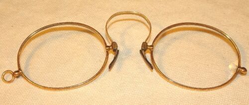 Antique Pince-Nez Spectacles Gold Filled