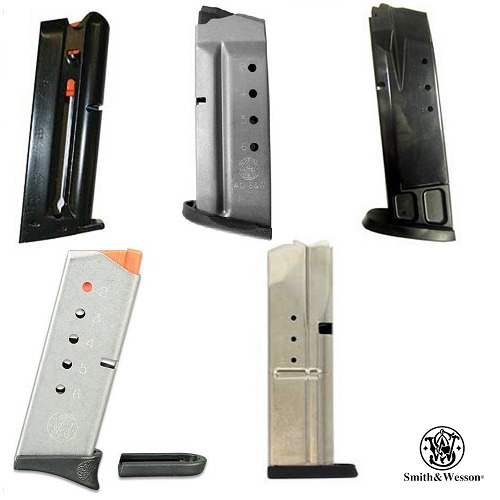Smith & Wesson OEM Handgun Various Mags S&W Pistol Magazines 6 7 & 10 Rounds RDsMagazines - 177879