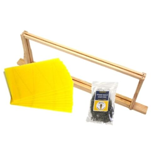 Beehive National DN4/Brood Frame Assembly Pack x 10