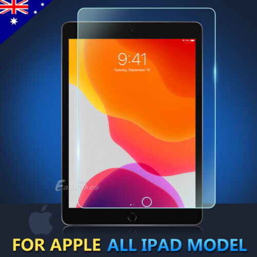 Tempered Glass Screen Protector for Apple iPad 2 3 4 5 6 7 8 10.2 Air Mini Pro
