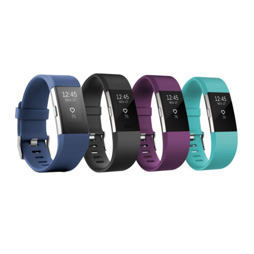 Fitbit Charge 2 Heart rate + Fitness Wristband Large and Small Size