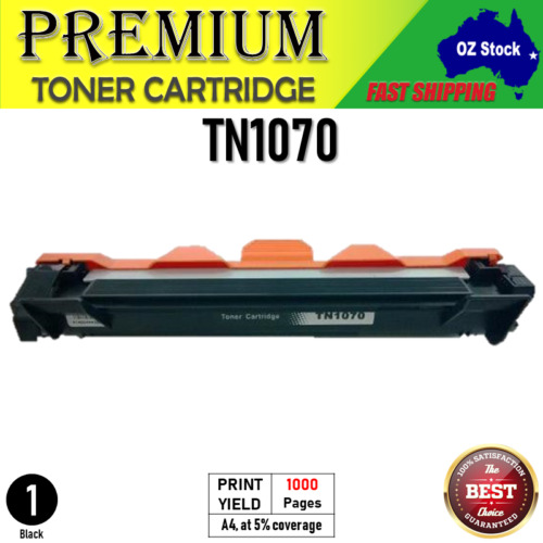 2x 4x Generic TN1070 toner or DR1070 drum for  HL1110 DCP1510 MFC1810 HL1210W