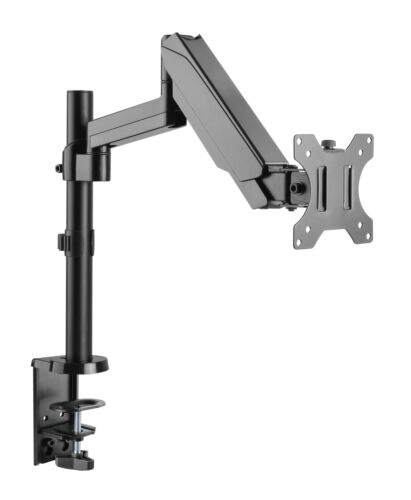 Single Gas Spring Monitor Arm HD LCD Desk Mount Stand Display Screen TV
