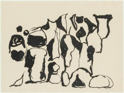 Philip Guston, Nice (12), signed and numbered, 1966