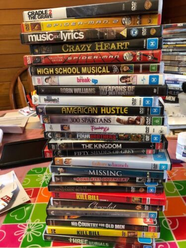 MORE CLEARANCE DVD's  Huge Range to choose from! From $1