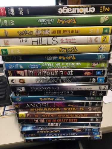 BRAND NEW- TV SHOWS & DVD'S CHOOSE FROM LIST