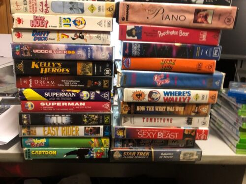 LOTS OF MOVIES VHS PLEASE CHOOSE FROM LIST