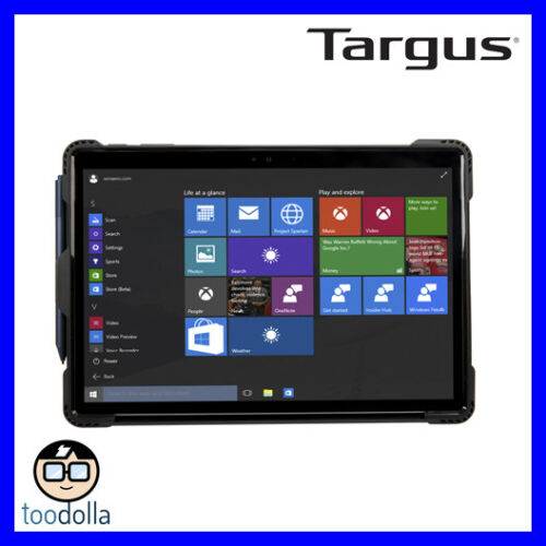 TARGUS Safeport Rugged Heavy Duty Protection Case, Surface Pro (2017), Pro 4 & 6