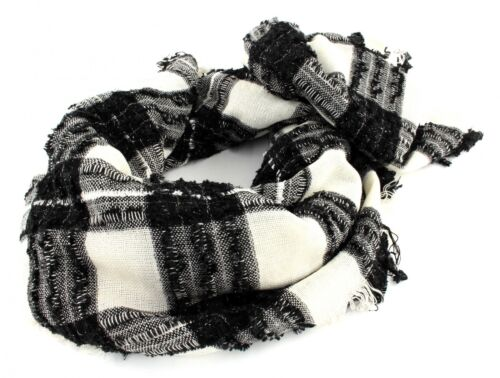ESPRIT Scialle Fancy Check Scarf Offwhite